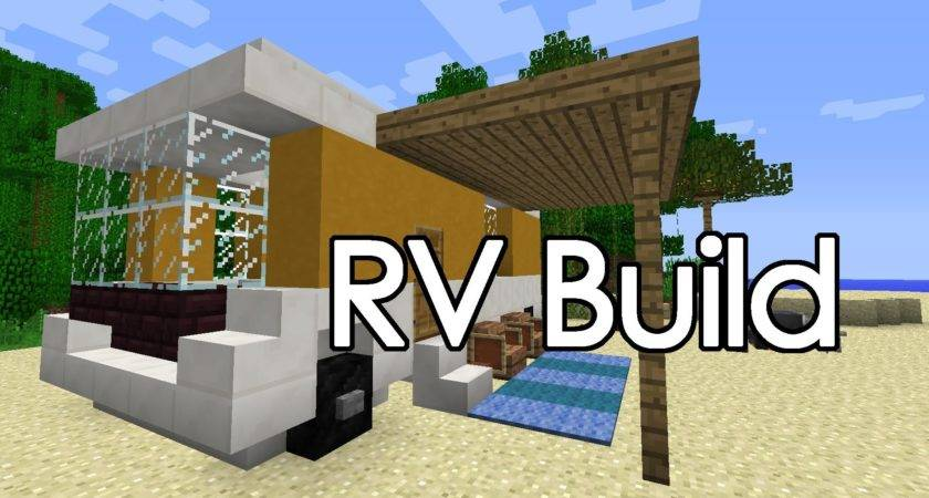 Minecraft Camper Build Youtube