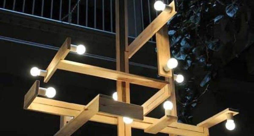 Minimalistic Pallet Wood Lamps Studiomama Pallets