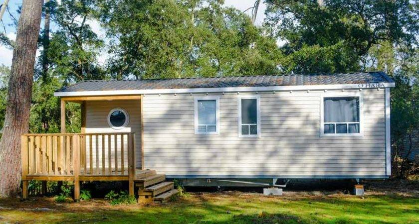 Mobil Home Phea Camping Sea Landes