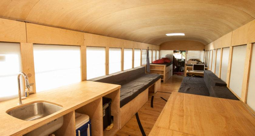 Mobile Bus Home Smart Renovation Wheels Ergonomics