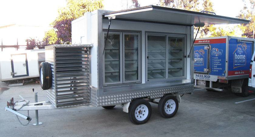 Mobile Coldroom Freezer Vending Trailers Icehawk