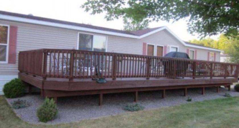 Mobile Home Decks Photos Bestofhouse