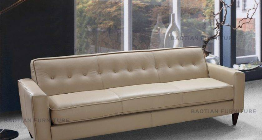 Mobile Home Furniture Design Imported Leather Sofas