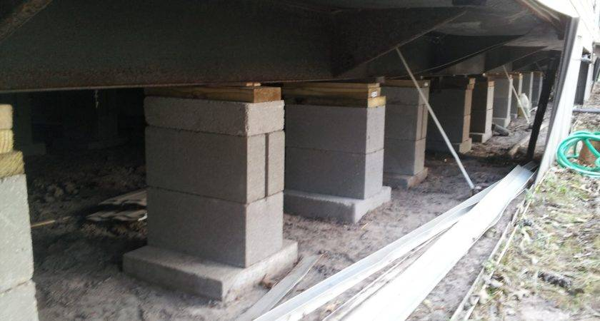 Mobile Home Leveling House Foundation Repair