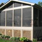 Mobile Home Skirting Lattice Porch