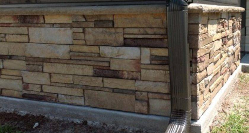 Mobile Home Skirting Stone Photos Bestofhouse