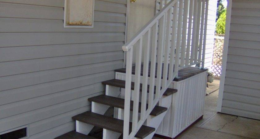 Mobile Home Steps Decks Kaf Homes