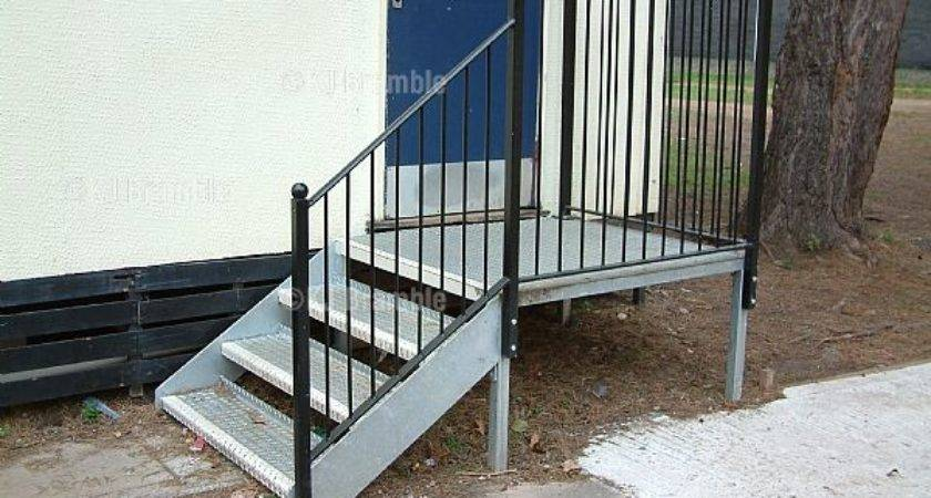 Mobile Home Steps Interesting