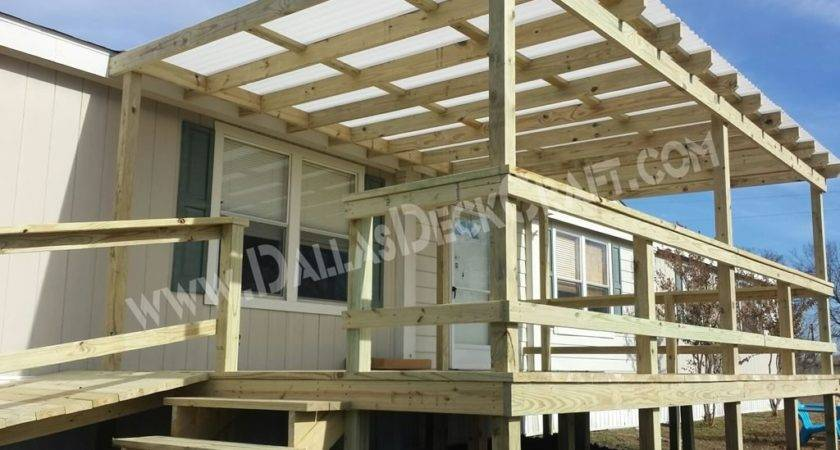 Mobile Home Steps Porches Dallas Deck Craft