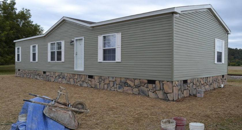 Mobile Home Underpinning Chattanooga Stone Veneer Siding