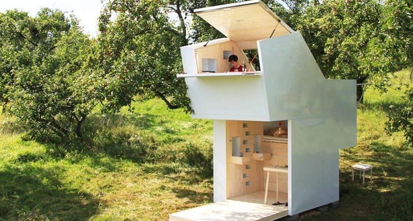 Mobile Modern Modular Capsules Off Grid Living
