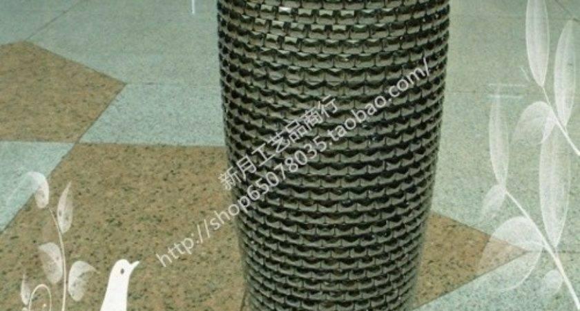 Modern Fashion Flower Acrylic Diy Mosaic Vase Large Floor