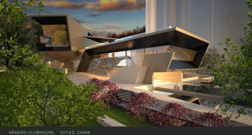 Modern Green Architecture Public Civic