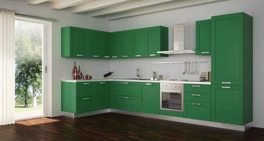 Modern Green Kitchen Cabinets Sustainablepals