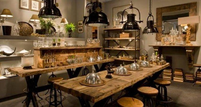 Modern Interior Design Industrial Decor Ideas