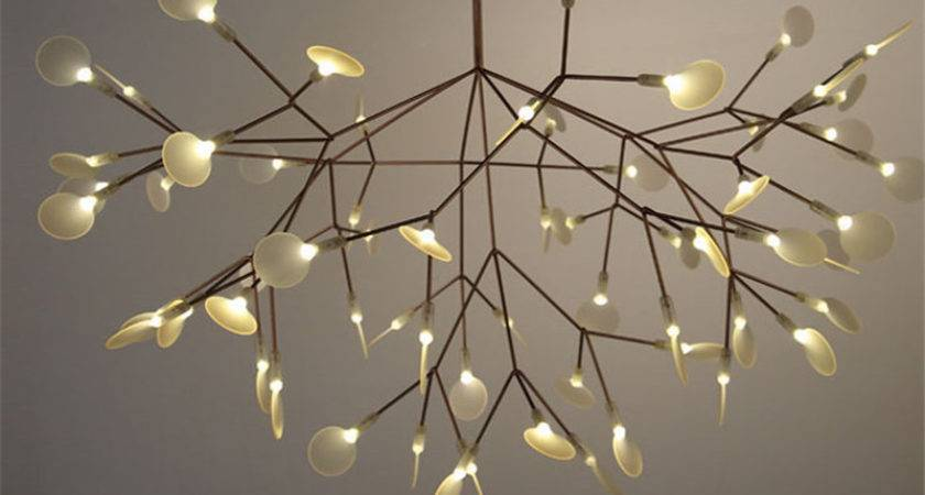 Modern Led Large Branch Tree Chandeliers