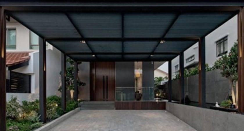 Modern Singapore Car Porch Shed Design Ideas