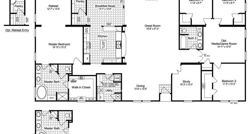 Modular Home Floor Plans Best Manufactured