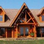 Modular Log Home Cape Cod Dormers Siding
