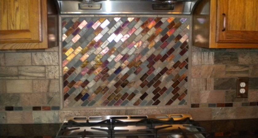 Mosaic Tile Backsplash Kitchen Cleveland