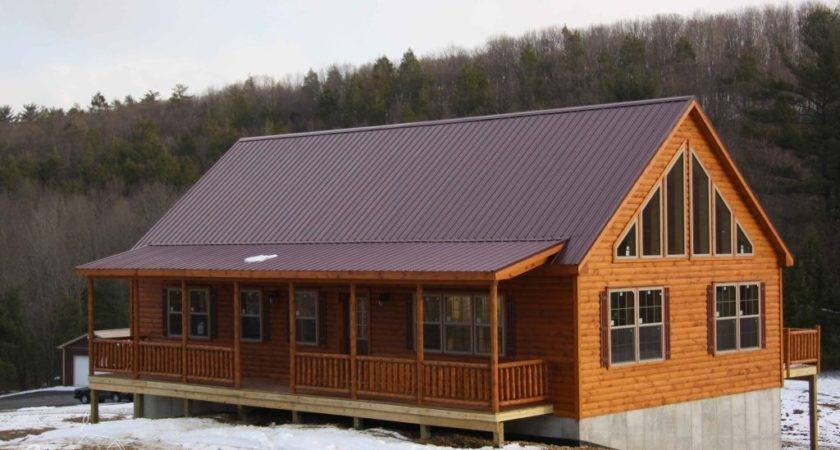 Mountaineer Deluxe Log Home Cozy Cabins Manufactured