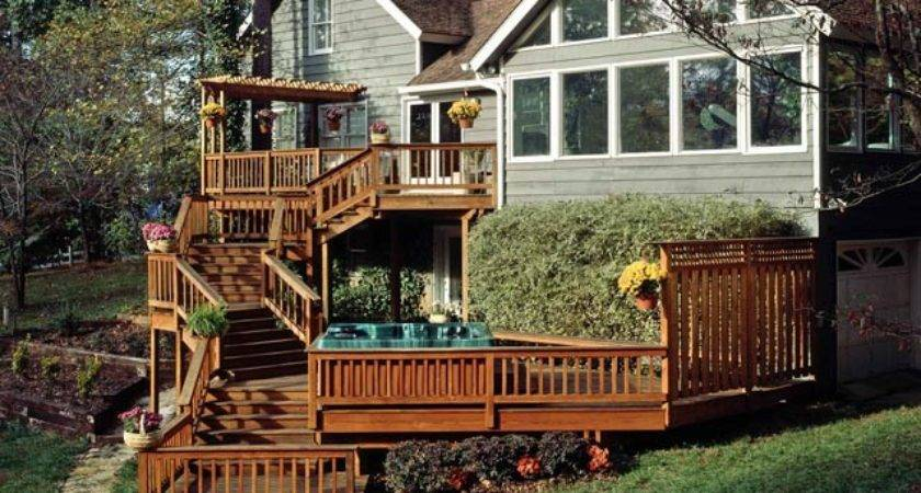 Multi Level Deck Design Ideas