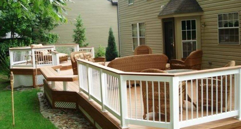 Multi Level Decks Columbus Porches