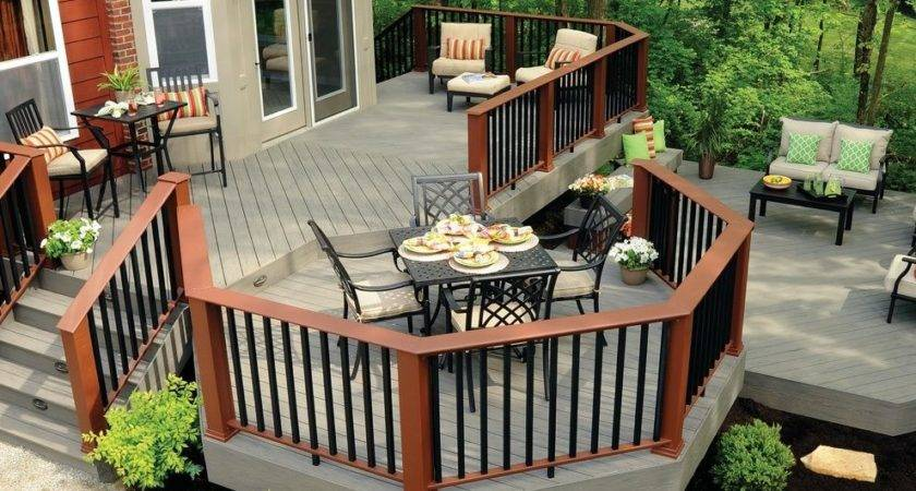Multi Level Decks Deck Traditional Outdoors