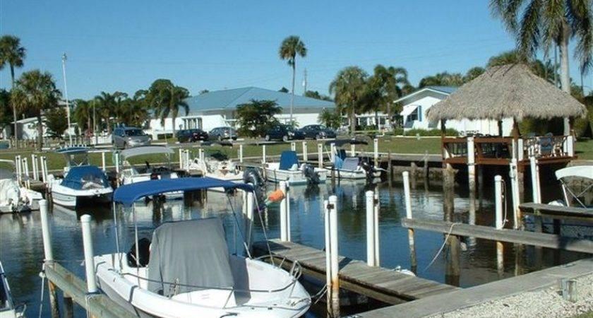 Naples Land Yacht Harbor Florida Usa