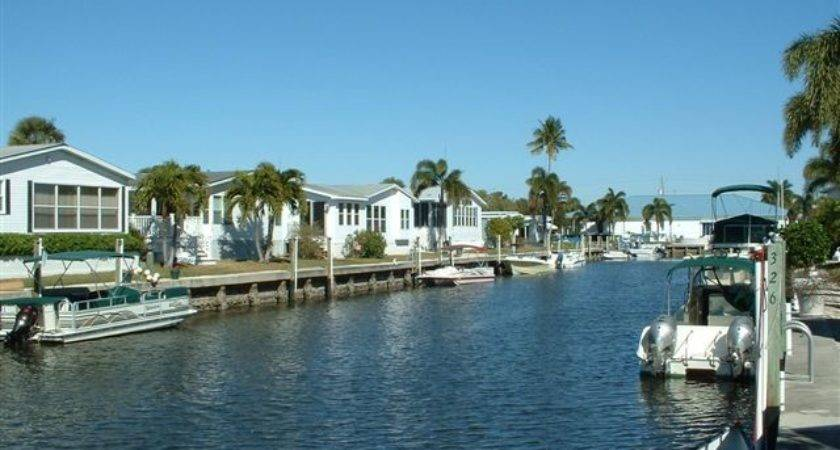Naples Land Yacht Harbor Florida Usa