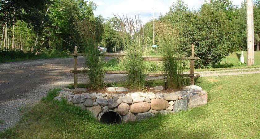 Natural Drainage Ditch Landscaping Ideas Bistrodre Porch