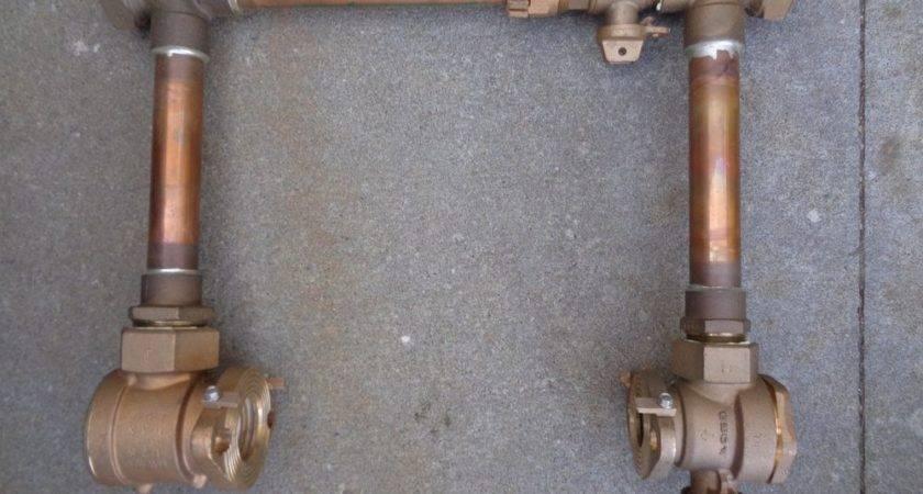 New Ford Copper Setter Water Meter Valves Bypass Vbh