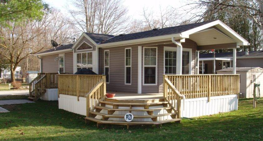 New Home Cropped Decks Porches Mobile Homes