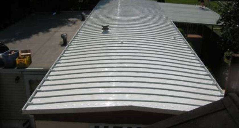 New Mobile Home Roof Machose Contractors Allentown