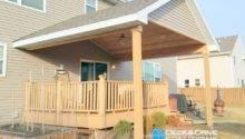 New Roof Over Existing Deck Des Moines Builder