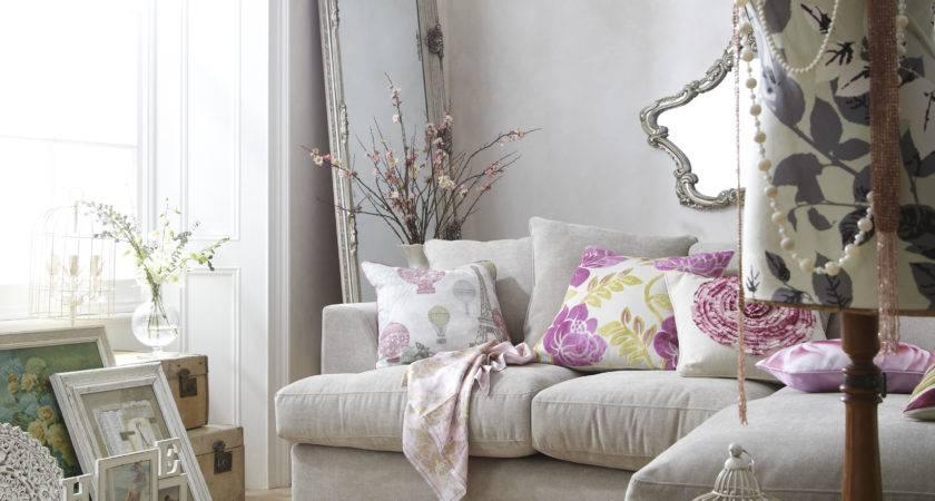 New Vintage Living Room Gillian Broome