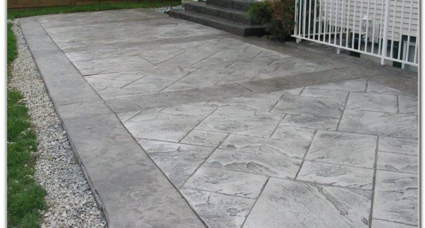 Nice Concrete Patio Design