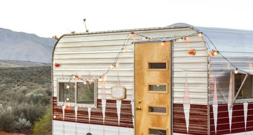 Now Restore Vintage Camper Wow Tiny