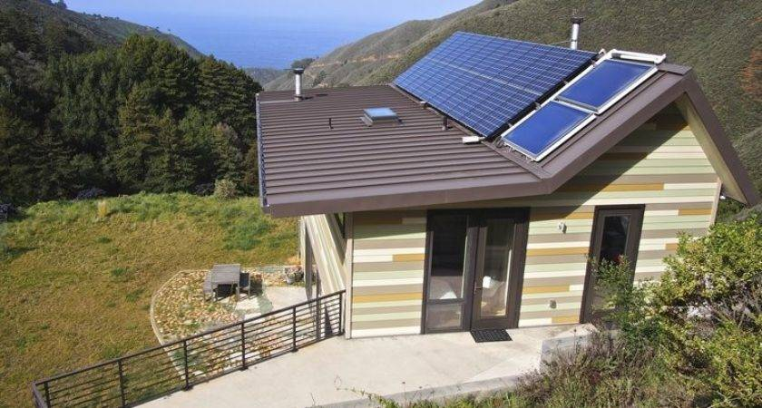 Off Grid Green Prefab Home California Modern