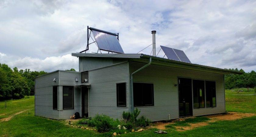 Off Grid Passive Solar Prefab House Summer Lovely