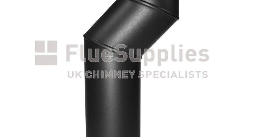 Offset Bend Stove Pipe Original Vitreous