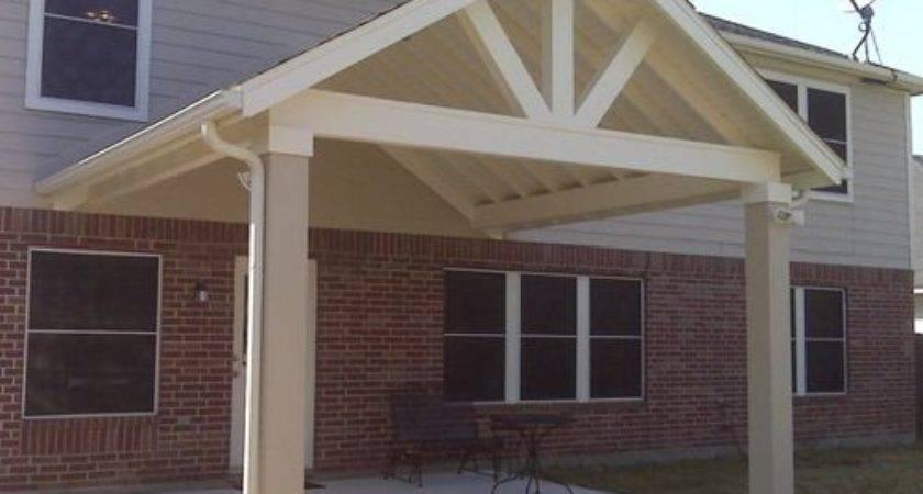Open Gable Patio Home Design Ideas Remodel