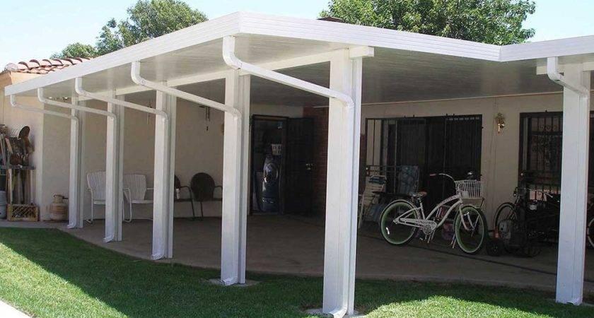 Orange County Solid Patio Cover Wood Aluminum