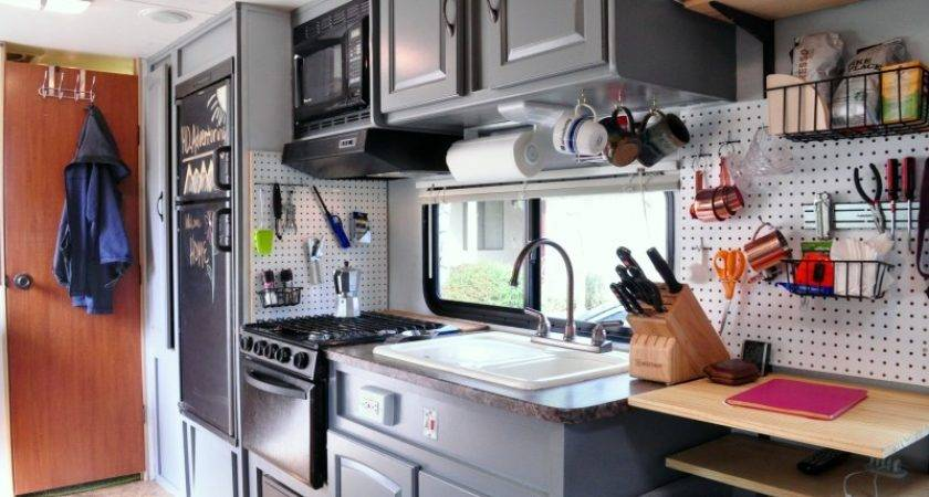 Outdated Trailer Trendy Tiny Home Living