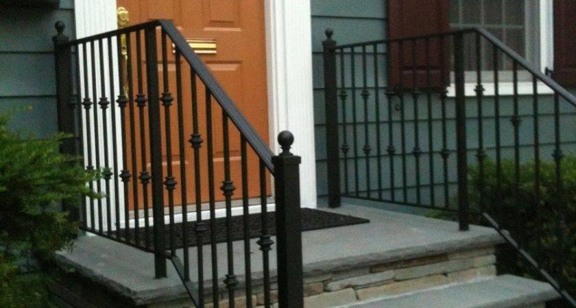 Outdoor Aluminum Porch Railings Railing Stairs
