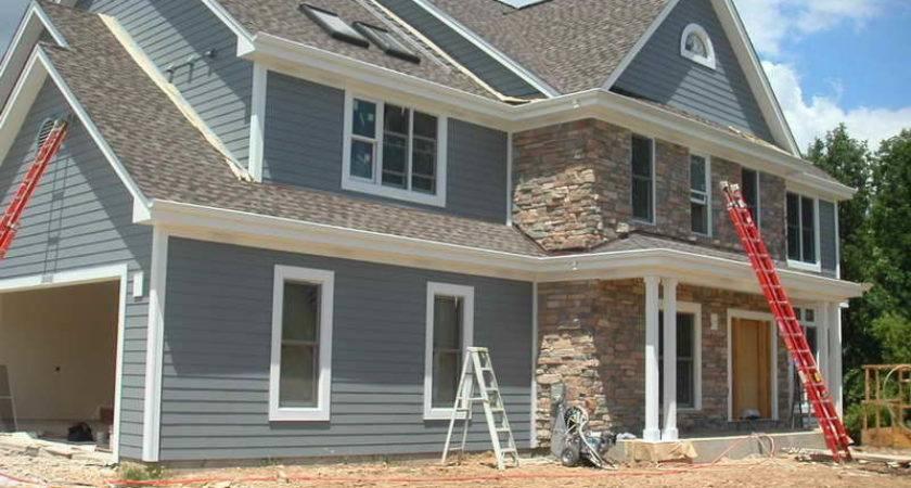 Outdoor Install Hardiplank Siding Installing