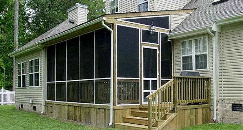 Outdoor Screened Porch Plans Ideas Designs