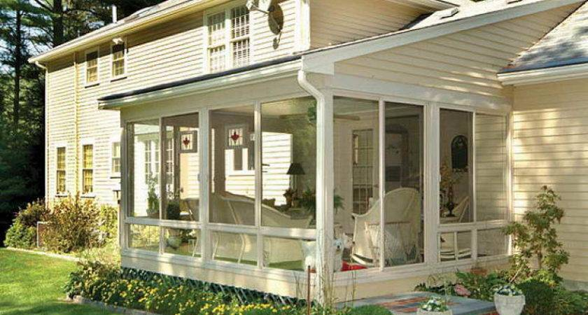 Outdoor Screened Porch Plans Ideas Fireplace Kit