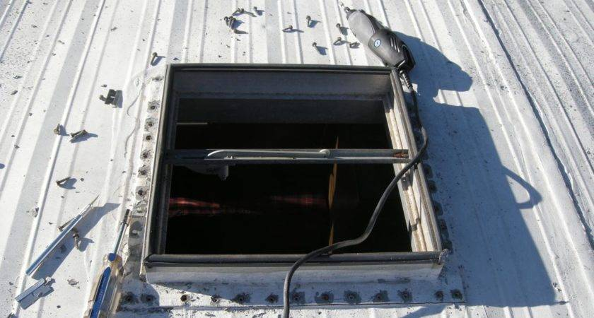 Outside Bubble Replacing Roof Vent