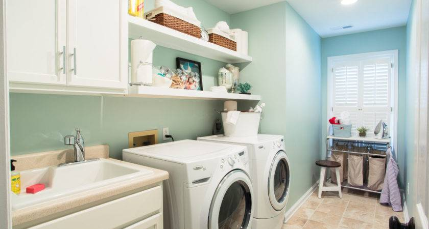Paint Colors Laundry Room Traditional